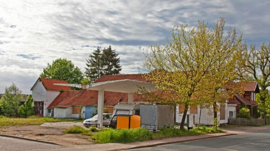 Blick auf das Grundstück Uelzener Straße 22