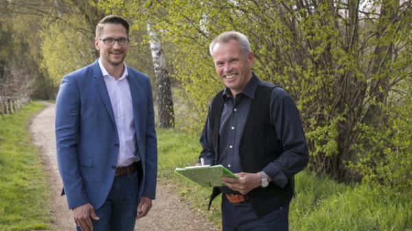 Fabian Huske im Gespräch mit Arnold Witthöft